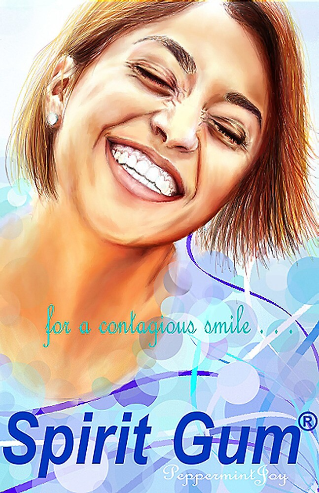 Gum Advertisement: For a Contagious Smile . . .  by Monica Galletto