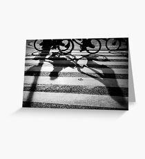 'Shadows' Greeting Card