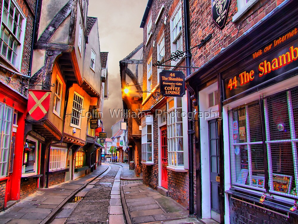 Quot 44 The Shambles York Hdr Quot By Colin Williams