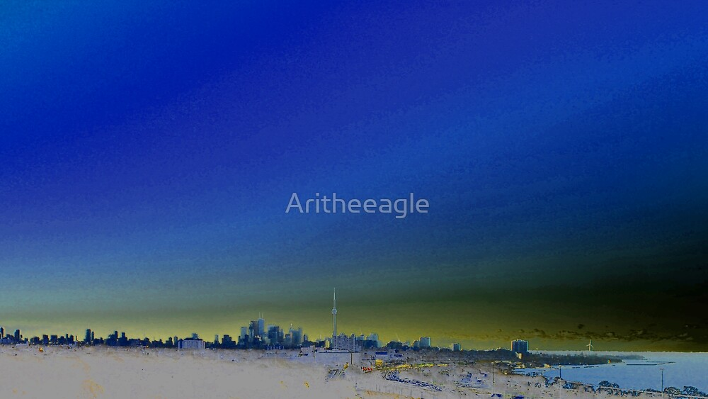 Toronto Inverted by Aritheeagle