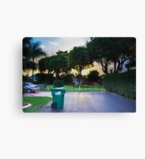 HDR of Nature/SUNSET Canvas Print