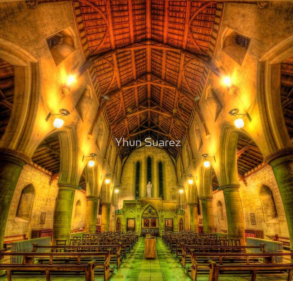 Mount Saint Bernard Abbey - The Nave by Yhun Suarez