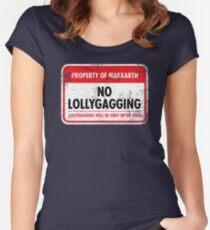 Markarth Municipal Ordinance Women's Fitted Scoop T-Shirt