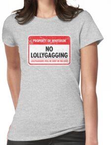Whiterun Municipal Ordinance Womens Fitted T-Shirt
