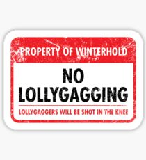Winterhold Municipal Ordinance Sticker