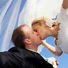 Kiss under veil by BlaizerB