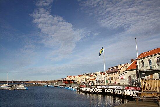 Lysekil harbour, West Sweden by Jeanne Horak-Druiff