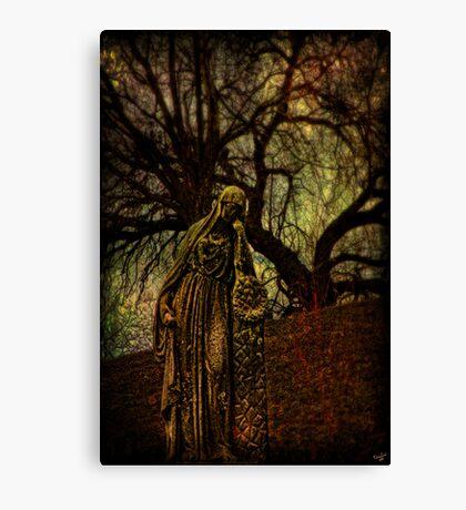 Hail Mary, Full of Sorrows Canvas Print