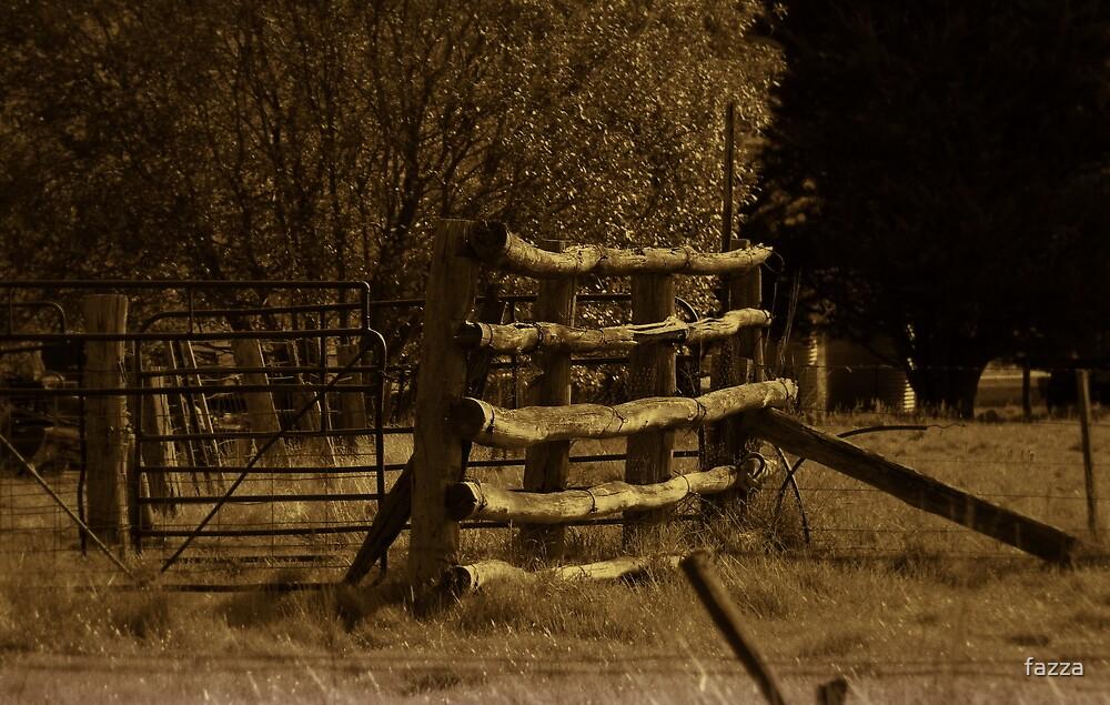 cattle yard by fazza