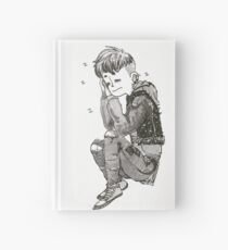 Sleepy Punk Hardcover Journal