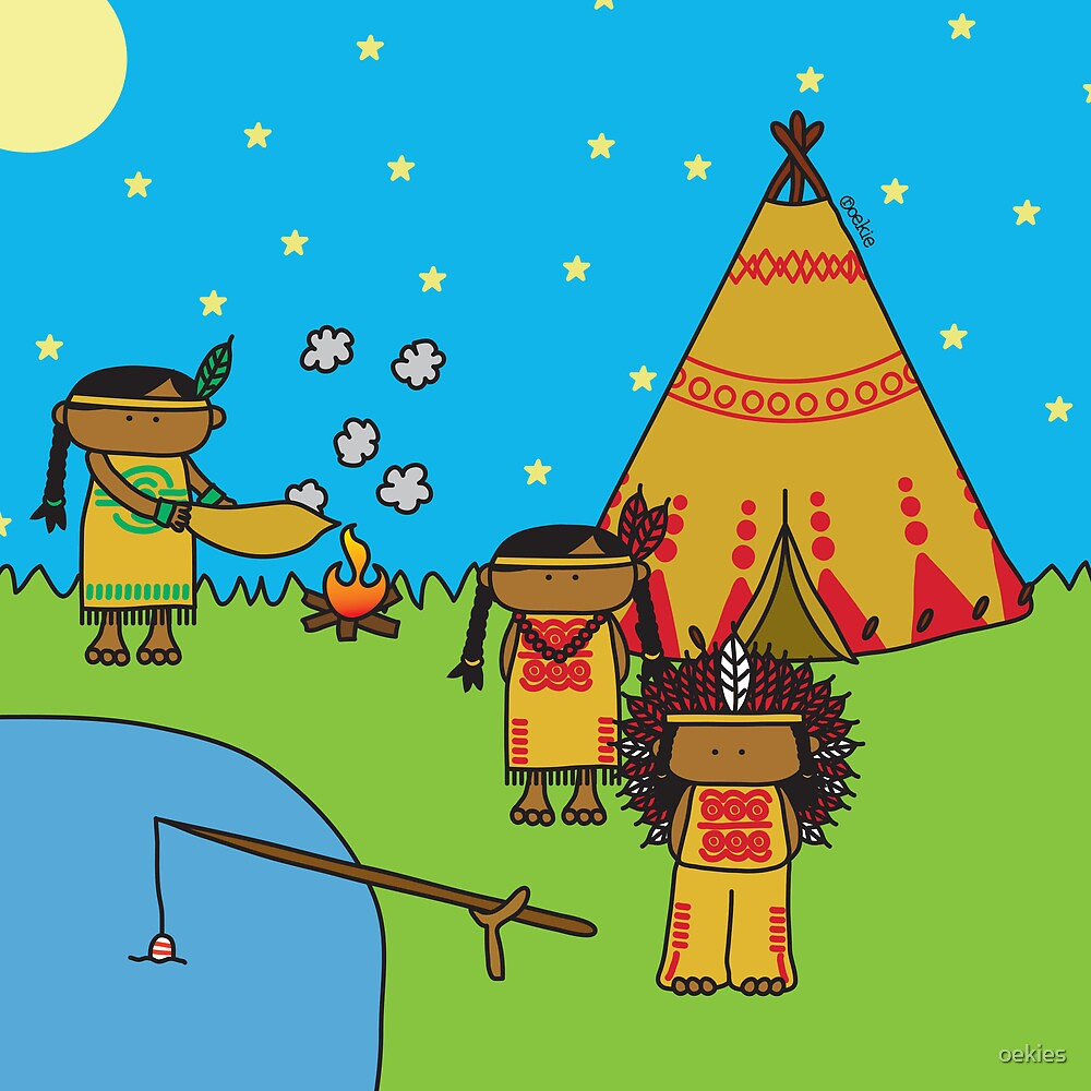 Indians - Print, Card & Poster by oekies
