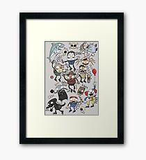 Monster Mash 2: The Revenge Framed Print