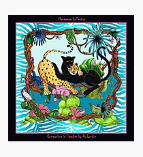 Companions in Paradise by Ro London - Menagerie Collection Photographic Print
