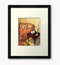 A Corner of my Lounge Framed Print