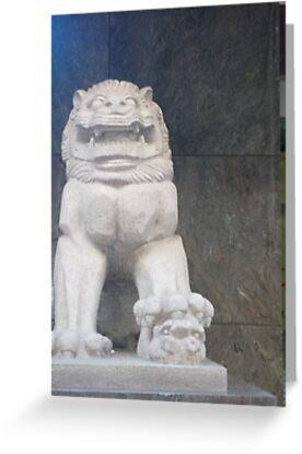 A ferosious Asian monster by Joseph Green