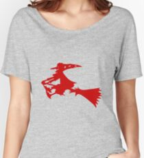 Red Witch Women's Relaxed Fit T-Shirt