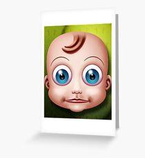 Baby Doll Head... Greeting Card
