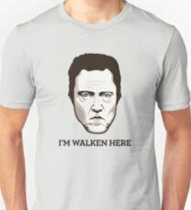 """Christopher Walken - """"Walken Here"""" T-Shirt Unisex T-Shirt"""