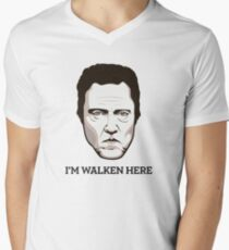 "Christopher Walken - ""Walken Here"" T-Shirt T-Shirt"