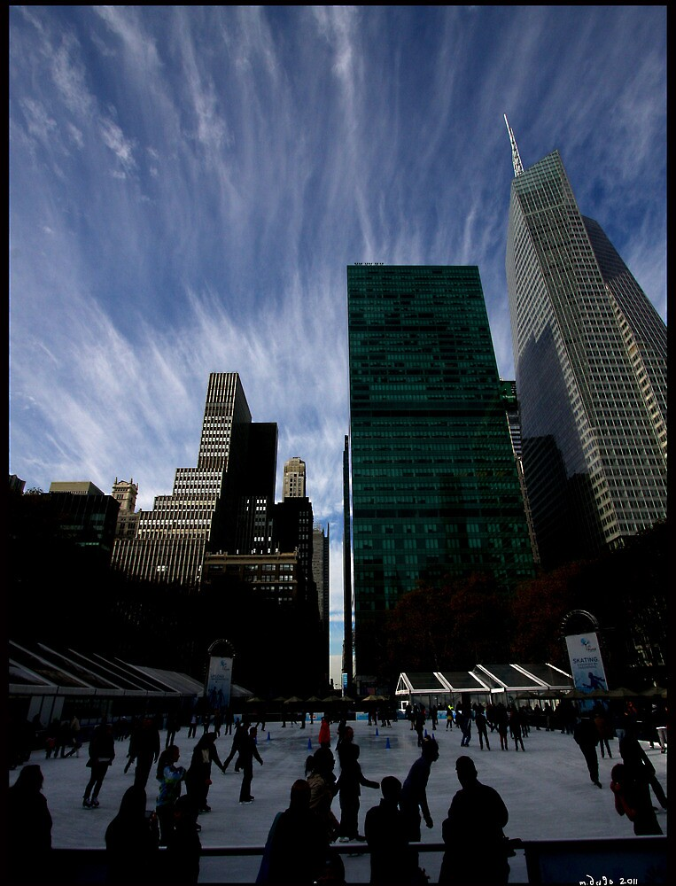 sky over bryant pk, 2011-dec by mark drago