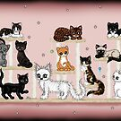 viele herzigen Katzen von Pezi-Creation