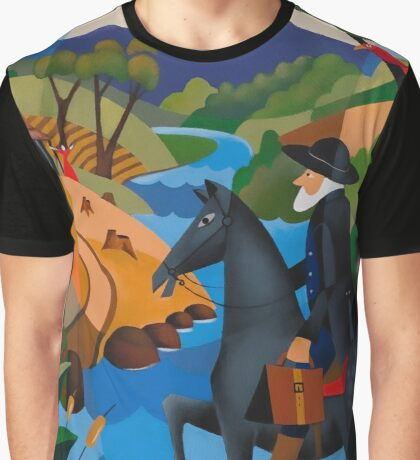 DR. GEORGE FORDYCE STORY OF 'KELVEDON' 1838 Graphic T-Shirt