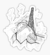 Forgotten Spaces Chimney Sticker