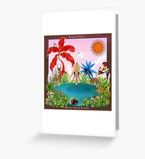 Afternoon Drinks by Ro London - Menagerie Collection Greeting Card