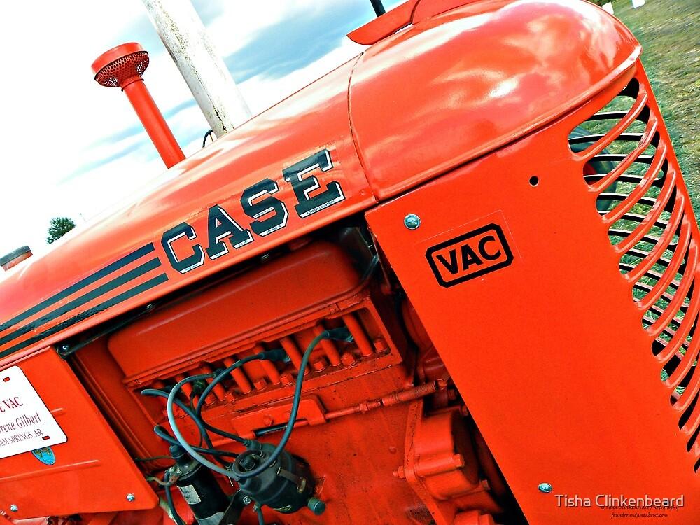 Case Tractor by Tisha Clinkenbeard