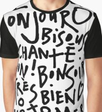 I HEART FRENCH Graphic T-Shirt