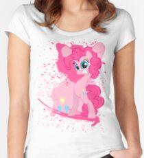 Paintie Pie Women's Fitted Scoop T-Shirt