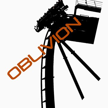 Oblivion - Alton towers by NigglesNibbles