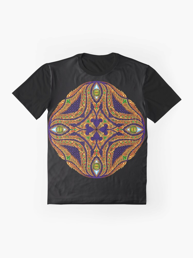 Alternate view of DMT Emblem by Salvia Droid Graphic T-Shirt