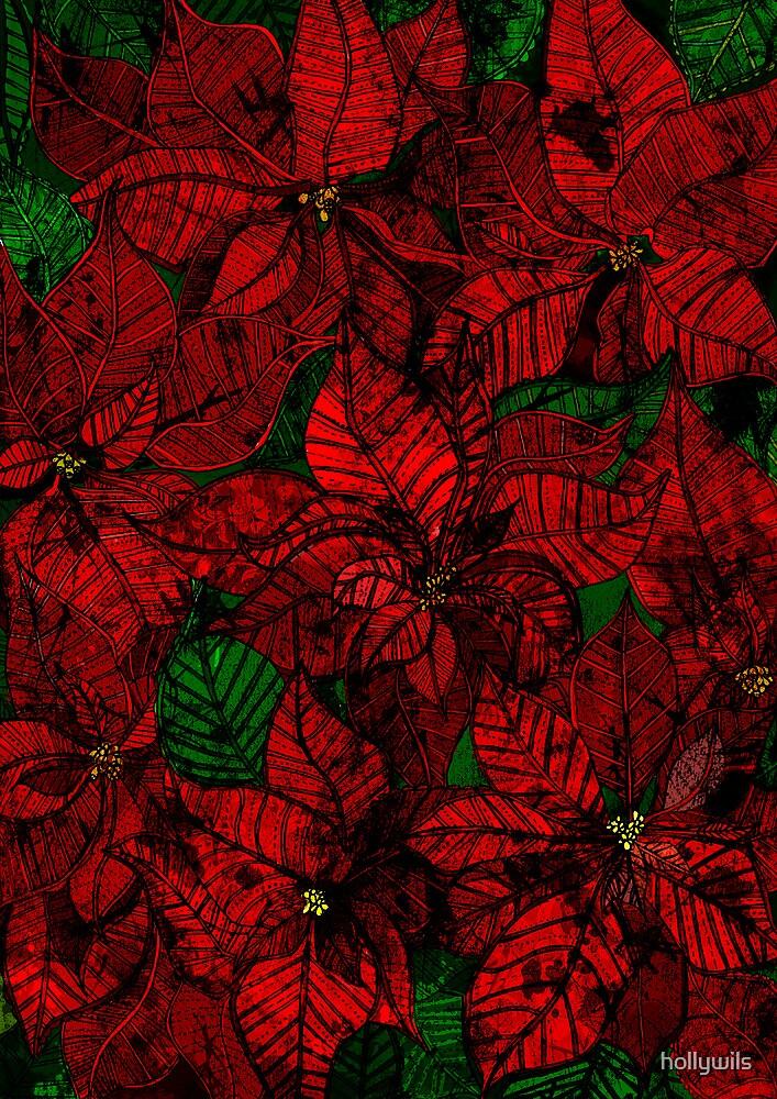 Poinsettia  by hollywils
