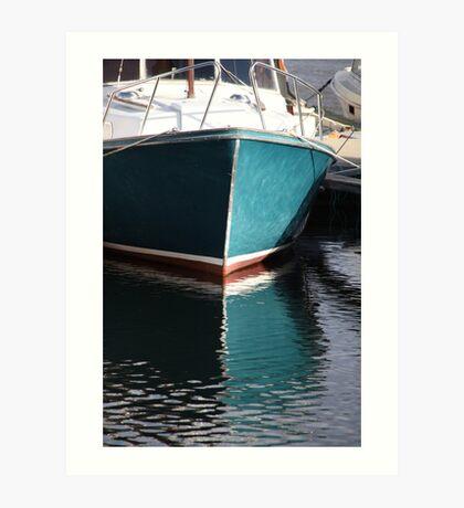 Koster Island boat Art Print