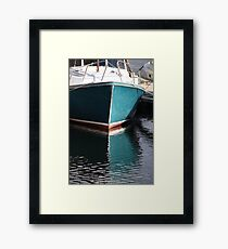 Koster Island boat Framed Print