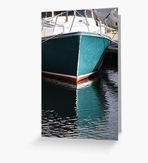 Koster Island boat Greeting Card