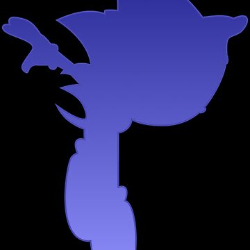 Classic Sonic Silhouette by Metalhead7