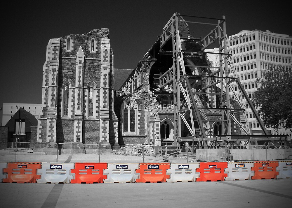 Christchurch Cathedral by Mark Bird