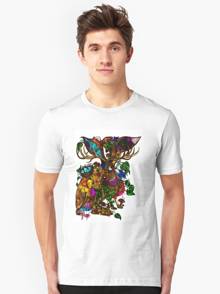 The march Hare Unisex T-Shirt Front