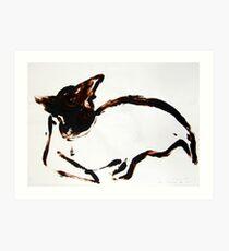 Scat, Cat! 31 Art Print