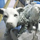 Snow Dogs (studio work). by Andy Nawroski