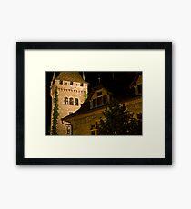 Zurich Townhall Framed Print