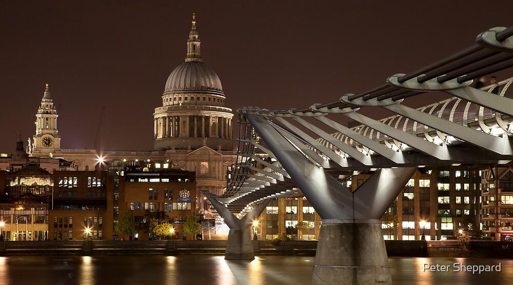 Millenium Bridge by Peter Sheppard