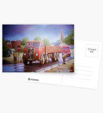 Marston brick ERF Postcards