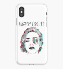 Crystal Castles Alice Face iPhone Case/Skin