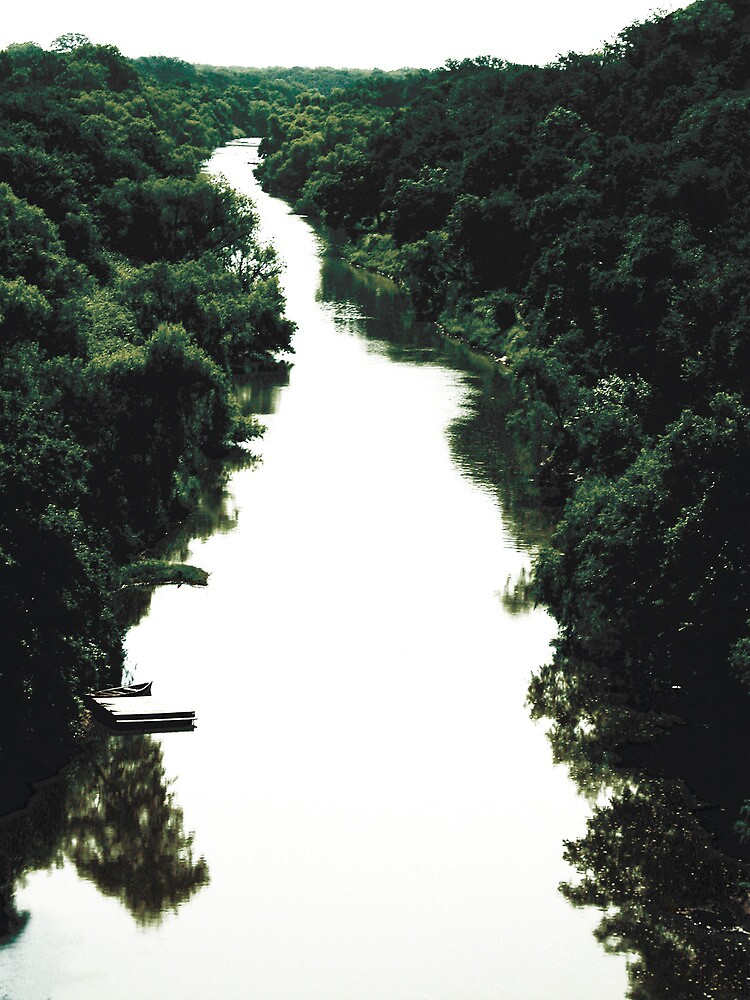 River and Woods by garamer