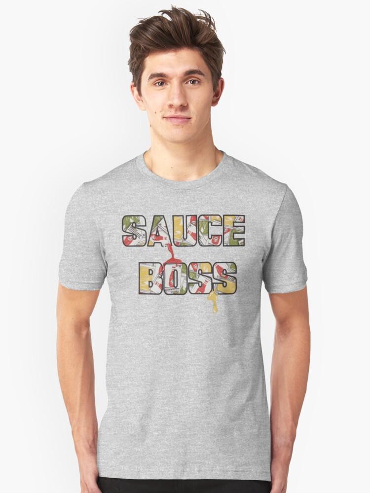Sauce Boss Unisex T-Shirt Front
