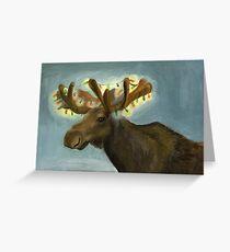 Christmas Antlers Greeting Card