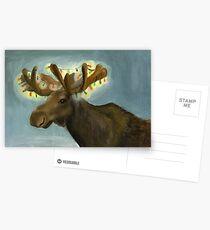 Christmas Antlers Postkarten